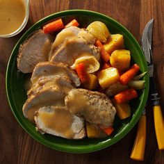 Sunday Pot Roast Recipe -With the help of a slow cooker, you can prepare a down-home dinner any day of the week, not just on Sundays. The roast turns out tender and savory every time. —Brandy Schaefer, Glen Carbon, Illinois