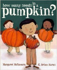 "Read ""How Many Seeds in a Pumpkin? Tiffin's Classroom Series)"" by Margaret McNamara available from Rakuten Kobo. Tiffin and his students explore skip counting and estimation in a fun pumpkin-themed classroom experiment! This book. Math Literature, Math Books, Kid Books, Pumpkin Books, A Pumpkin, Pumpkin Facts, Curious Kids, Stem Activities, Kindergarten Activities"