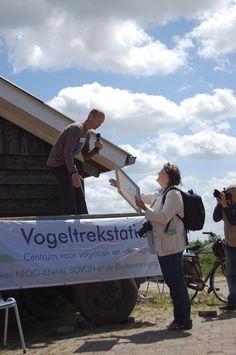 Foto album '100 jaar vogels ringen' | Vogeltrekstation.nl