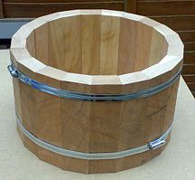 Stave drum making. I have the wood but need to cut it so it looks like this