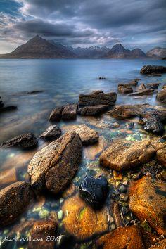 The Cuillin from Elgol, Isle of Skye, Scotland by Karl Williams, via Skye Scotland, Scotland Travel, Beautiful World, Beautiful Places, Beautiful Scenery, Amazing Places, Places To Travel, Places To See, Exterior