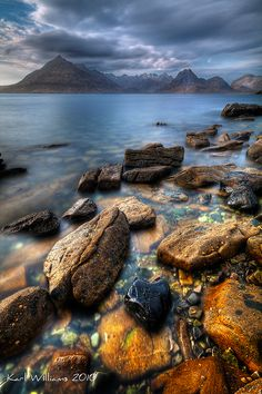 The Cuillin from Elgol, Isle of Skye, Scotland | by Karl Williams, via 500px.
