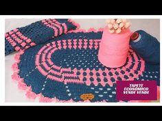 Kids Rugs, Erika, Youtube, Crochet Carpet, Twine Crafts, Crochet Mat, Trapper Keeper, Crocheting, Tejidos