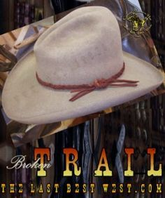 Broken Trail Movie Hat Sombreros Occidentales a024a29824e