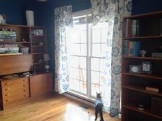 New curtains and young Sherlock
