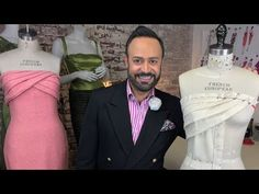 How to Drape Without a Dress Form: Slash & Spread - YouTube