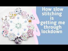 Emma Jones Vintage Sewing Box - YouTube Hexagon Pattern, Free Pattern, Vintage Sewing Box, English Paper Piecing, Quilt Top, Needle And Thread, Needlework, Stitching, Hexagons