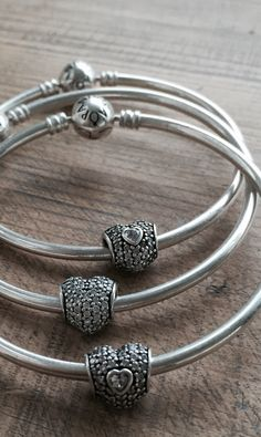 Hearts and Bangles - Pandora bracelets available at Daniel Jewelers, Brewster New York
