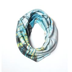 Saturday Morning skinny infinity scarf