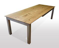 Tisch Wildeiche Massiv   Breite 80cm / Länge Wählbar