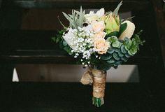 Nellie Bride's bouquet. Australian natives and by LaPlumeDeFleur