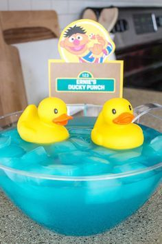 Simply Beautiful By Angela: Sesame Street Party. Ernie's Ducky Punch