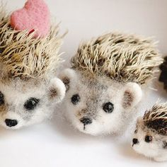 needle felted toys - Google Search