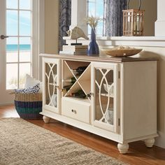 Candlewood Weathered Grey Server - 17711939 - Overstock.com Shopping - Big Discounts on Liberty Buffets
