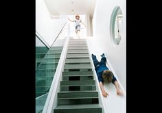 A playful staircase for the kids :)