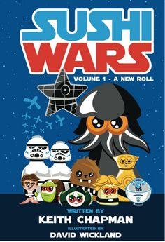 Star Wars + Sushi = Sushi Wars. Watch it at http://9nl.cc/j3jp #StarWars #Sushi #SushiWars #Animation #Parody