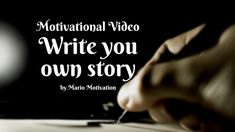"""How to be a hero - Write your own story (Motivatioanl Video) For a free 30 minutes free coaching call just send me a message with the word """"unstoppable"""" and . Write Your Own Story, Better Day, Motivational Videos, Dreaming Of You, Hero, How To Get, Messages, Writing, Words"""