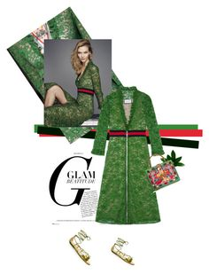"""""""A Gucci lace affair"""" by theitalianglam ❤ liked on Polyvore featuring Gucci, Dolce&Gabbana, gucci and dolcegabbana"""