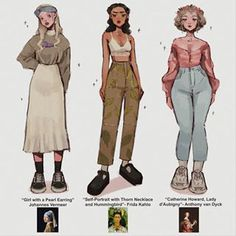 Fashion Design Drawings, Fashion Sketches, Fashion Drawings, Kleidung Design, Fashion Art, Fashion Outfits, Clothing Sketches, Look Girl, Cute Art Styles
