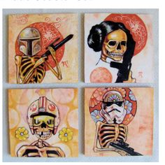 Star wars meets day of the dead!