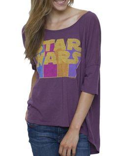 Star Wars Vintage Free Spirit Tee @ http://www.junkfoodclothing.com