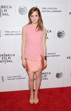 The week in celebrity style: See who made our top 10 best dressed // Emma Watson in Narciso Rodriquez