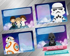 Star Wars Food Tent  INSTANT DOWNLOAD by kidspartydiy on Etsy