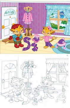 Illustrations by Monkey Doodle Dandy (Kurt Marquart) at Coroflot.com