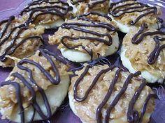 Homemade Samoa Cookies from Simply Sweet home