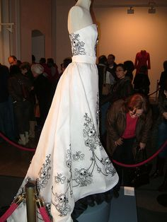 The dress Audrey Hepburn wore in Sabrina