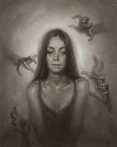 New Gcse Art Sketchbook Mental Health Ideas Sad Drawings, Dark Art Drawings, Art Drawings Sketches, Dark Art Paintings, Pencil Drawings, Depression Bipolar, Drawings About Depression, Art Sketchbook, Sketch Art