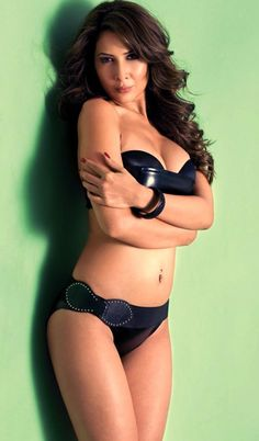 Kim Sharma latest Photoshoot stills in black bikini. See the more Hot Stills of Kim Sharma.