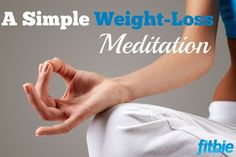 """You've heard that eating """"mindfully"""" can help you drop pounds. This simple five-step meditation will get you there."""