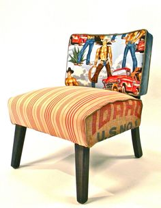 Magic Mike  Chair collection - Happy Chair by Shawna Robinson