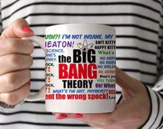 Coffee Mug Big Bang Theory Quotes Mug