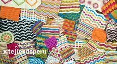 😅 Parece que ya tenemos suficientes muestras de puntos a #crochet como para hacer una manta king size!