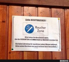 Liebe NICHTRAUCHER ! | Lustige Bilder, Sprüche, Witze, echt lustig