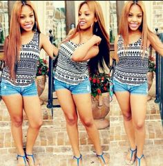 Pretty girl swag :)