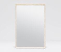 Restoration Hardware Venetian Beaded Leaner Mirrors Aged