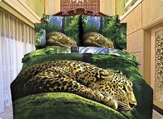 """Комплект постельного белья с леопардом сатин """"Шанс"""". Скидка 5% по кодовому слову """"Pinterest"""" satinoff.ru"""