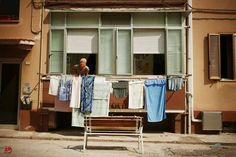 Panni al sole / Laundry in the Sun