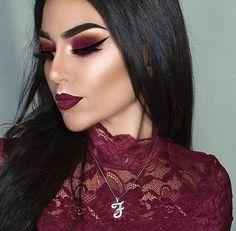 Make up tinto Sexy Makeup, Makeup On Fleek, Flawless Makeup, Gorgeous Makeup, Love Makeup, Makeup Inspo, Makeup Inspiration, Makeup Tips, Beauty Makeup