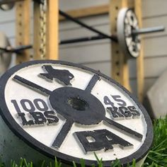 Stix and Stone | Concrete Weight Plate Molds Diy Power Rack, Stix And Stones, Weight Rack, Wooden Diy, Bodybuilder, Concrete, Fitness Motivation, Gym, Plates