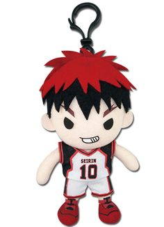- Officially Licensed - Approximately 5.5 inches tall x 3 inches wide x 1.75 inch thick - Great for Kuroko no Basuke fans! - Warning: Choking Hazard - Small parts. Not for children under 15 years. - M