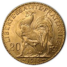 Euro gold coins off great value and liquidity for buyers looking for privacy, portability, and a way to take advantage of upside potential. You'll find the best prices for Euro Gold Coins at Austin Rare Coins & Bullion! Rare Gold Coins, Gold Coins For Sale, Gold And Silver Coins, Bullion Coins, Gold Bullion, French Coins, Wedding Band Engraving, Coins Worth Money, Coin Art