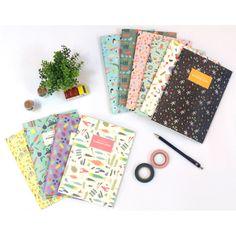 Wanna This Bon Bon pattern lined notebook medium