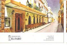 Postal (PostCard) 045783 : Restaurante tipico El Faro - Cadiz