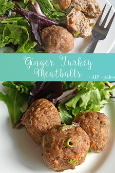 Ginger Turkey Meatballs | Real Food & Love