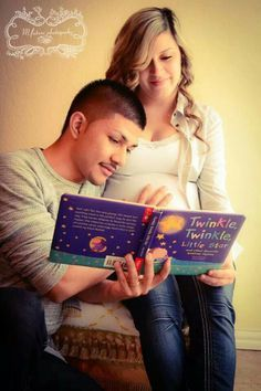 maternity session unknown gender book reading @googleimages