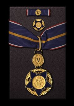 The Public Safety Officer Medal of Valor is the highest decoration for bravery exhibited by public safety officers in the United States, comparable to the military's Medal of Honor. Military Ranks, Military Orders, Medan, Logo Inspiration, Game Design, Diy And Crafts, Public, Symbols, Safety